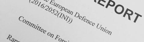 Euroopa Parlamendi väliskomisjon kiitis heaks raporti ELi kaitsekoostöö tugevdamisest