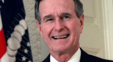 Meil vedas, et suurte muutuste ajal oli USA president põhimõttekindel poliitik George H.W. Bush
